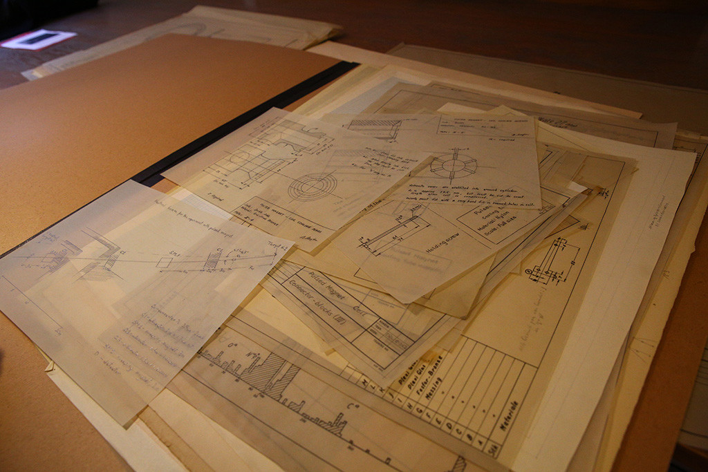 Technical Drawings from Neils Bohr Institute