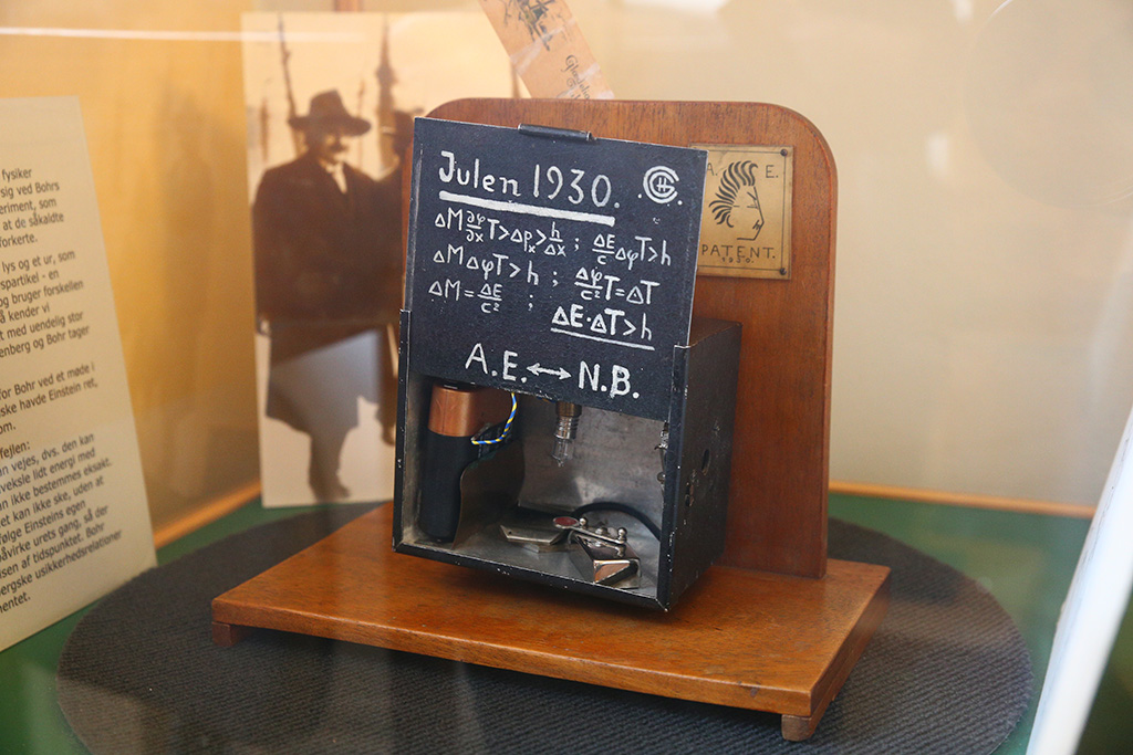 Einstein's Box at Neils Bohr Institute